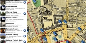 London Apps: Time Travel Explorer On iPad