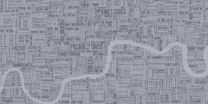 Santa's Lap: London Type Map