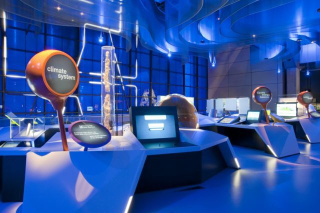 "Views of ""Atmosphere ...exploring climate science"" gallery"