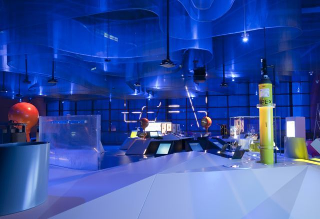 "Views of ""Atmosphere ...exploring climate science"" gallery"