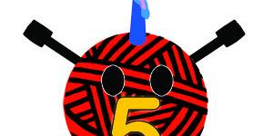 Happy 5th Birthday Stitch London!