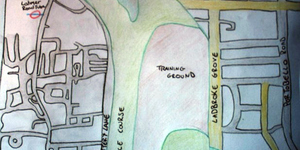 Hand-Drawn Maps Of London: Historic Ladbroke Grove