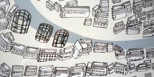 Hand-Drawn Maps Of London: Hackney