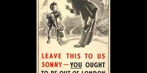 Evacuee Week on Exploring 20th Century London