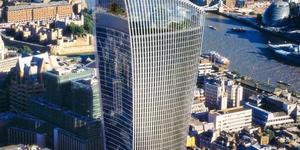 Construction Of Walkie-Talkie Tower Begins