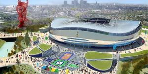Tottenham Reveal 2012 Stadium Plans
