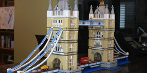 Building Tower Bridge, One Lego Brick At A Time