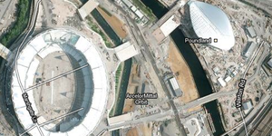 Olympic Park Now Visible On Google Maps