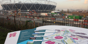 Inside The 2012 Olympic Park: 540 Days To Go