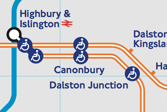 How the link appears on the Tube map. Not good news for those who favour a less cluttered approach.