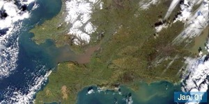 London: The Year From Space