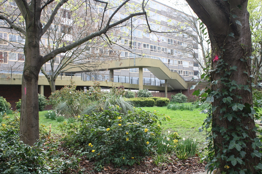 The Heygate Estate, a modern Secret Garden?