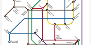 Alternative Tube Maps: Olympic Venues