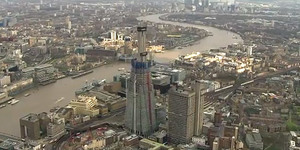 Video: The Shard From The Air