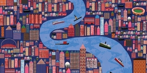 The River Thames: Serco Prize For Illustration @ London Transport Museum