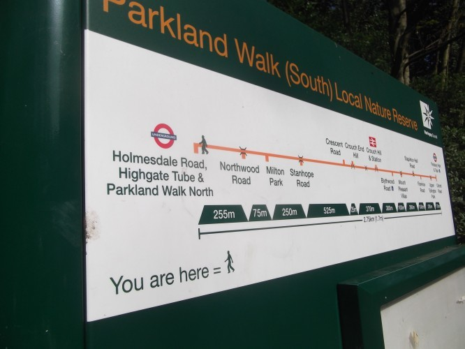 Ever Followed The Parkland Walk?