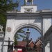 Entrance to Bourne Hall Park.