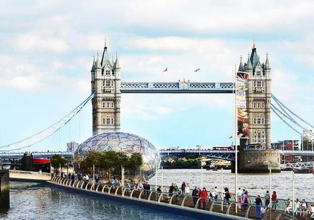 London To Get A Kilometre-Long Floating Walkway