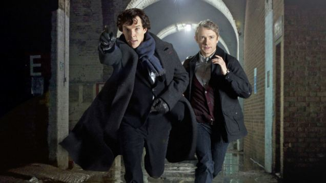 Sherlock Wins Two BAFTAs...New Series Now Filming