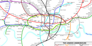 Harry Beck's Tube Map Causes Travel Confusion