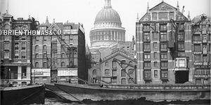 Old Photos Of London At Tower Bridge