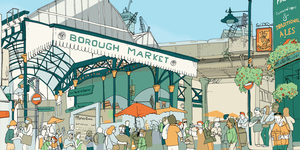 London Boroughs Depicted In Beautiful 'Sweet View' Prints