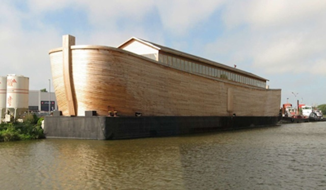 Noah's Ark 'Replica' For Olympics?