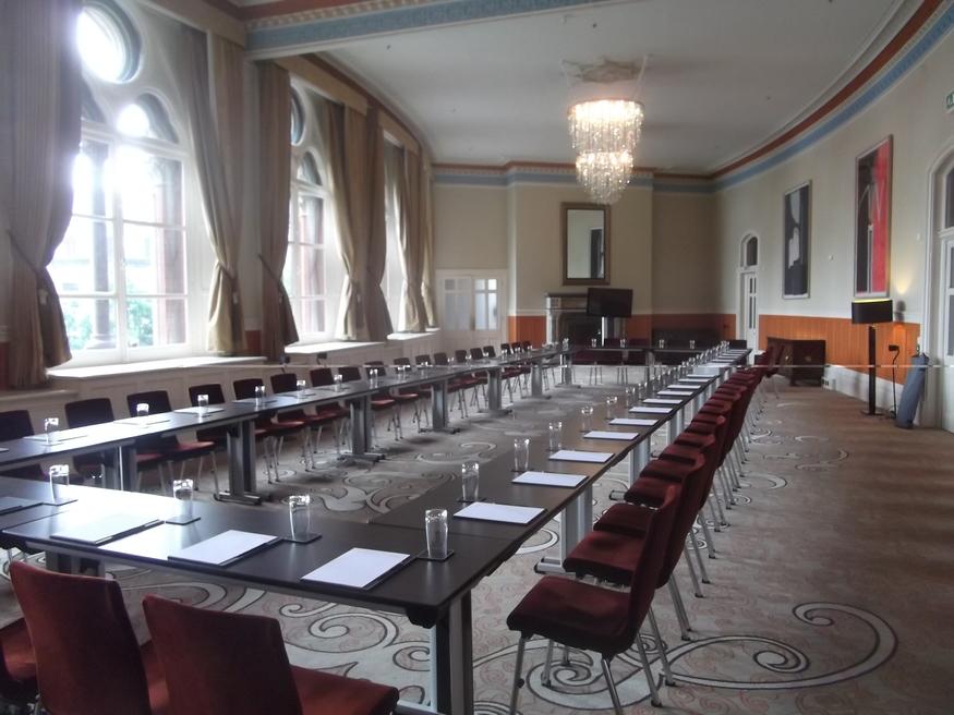 Restored meeting room.