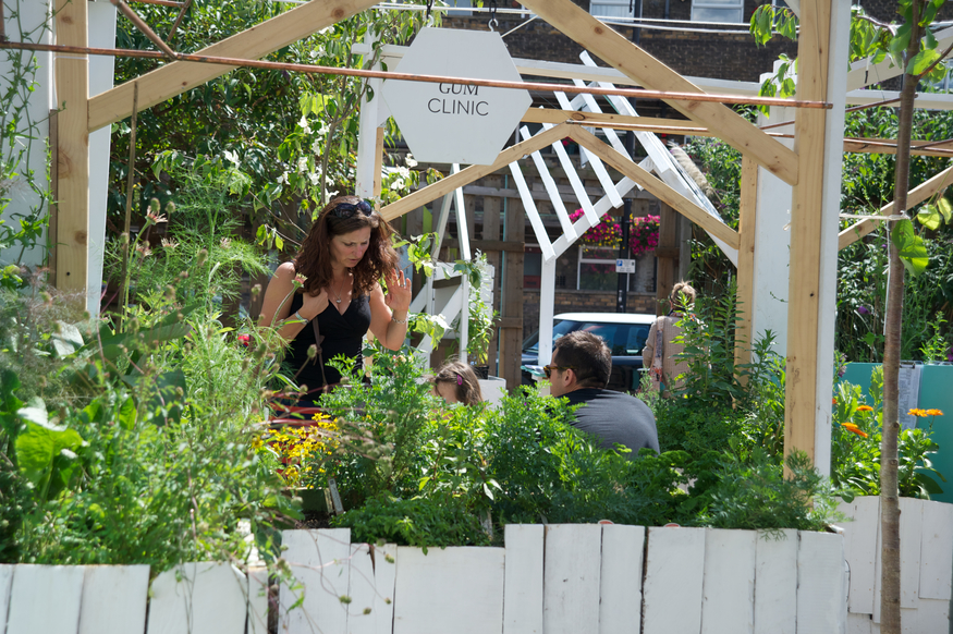 In Pictures: The Urban Physic Garden