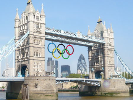 How Tower Bridge Will Look For The Olympics