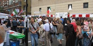 Preview: Italian Parade in Clerkenwell