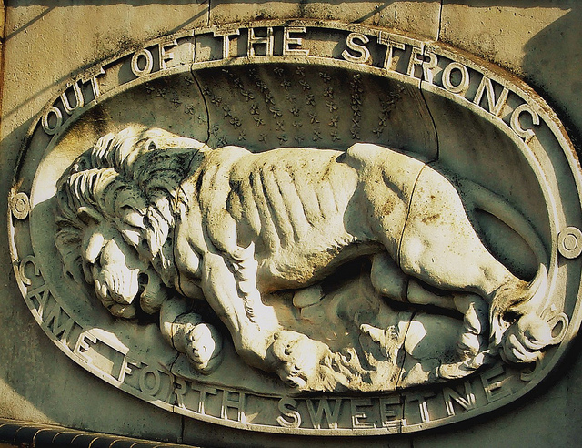 The Friday Photo: The Tate And Lyle Lion