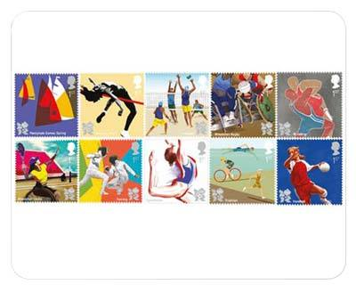 Get Ready For 2012 Stamps Unveiled To Mark One Year To Go