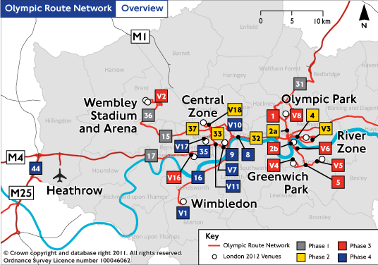 Ken Writes To Boris About Olympic Route Network