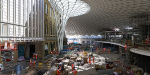 A Tour Of The New King's Cross Station