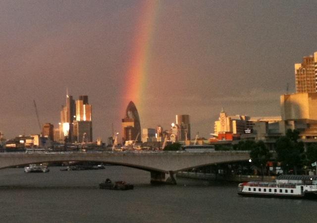 Photos: Gherkin Under The Rainbow