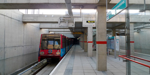 In Pictures: The New Docklands Light Railway Extension