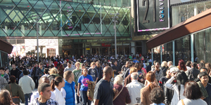 Westfield Stratford Opens To The Sound Of Smashing Glass