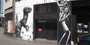 Street Art: Phlegm Paints Up The Foundry In Shoreditch