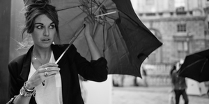 London Fashion Week S/S12: Umbrellas And Cigarettes