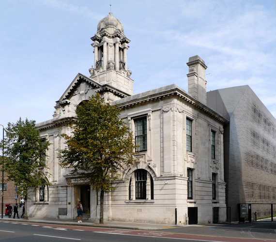 Bethnal Green Town Hall. It re-opened in 2011 as a boutique hotel and restaurant, Viajante.