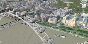 Google Earth's 3D Model Of London
