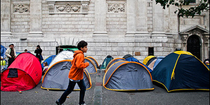 Occupy Protest Enters Third Day