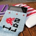 Laptop sock with Invader LDN logo, © F&W Media