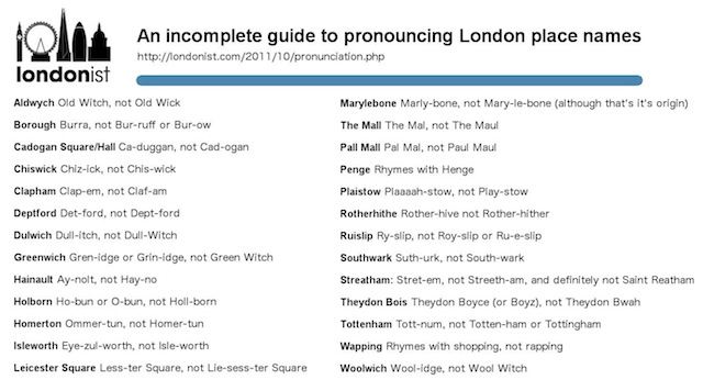 How Do You Pronounce Theydon Bois? | Londonist
