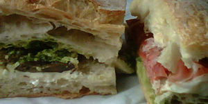 Sandwichist – Gorgonzola and Grilled Aubergine from Gastronomeria Italia, Pimlico