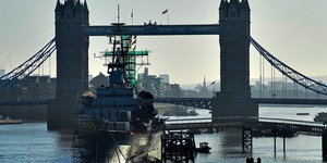 HMS Belfast Goes Missing From 2012 Festival Posters