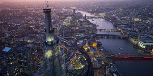 Aerial Photos Of The Olympic Park And The Shard
