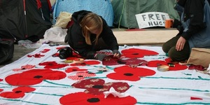 TODAY: Poppy Installation at St Paul's
