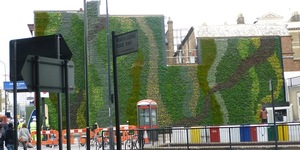 Green Wall To Tackle Air Pollution At Edgware Road Station